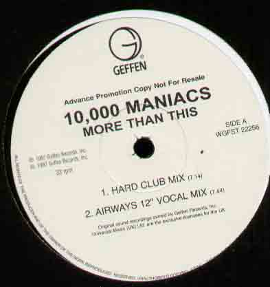 10000 Maniacs More+Than+This 12''