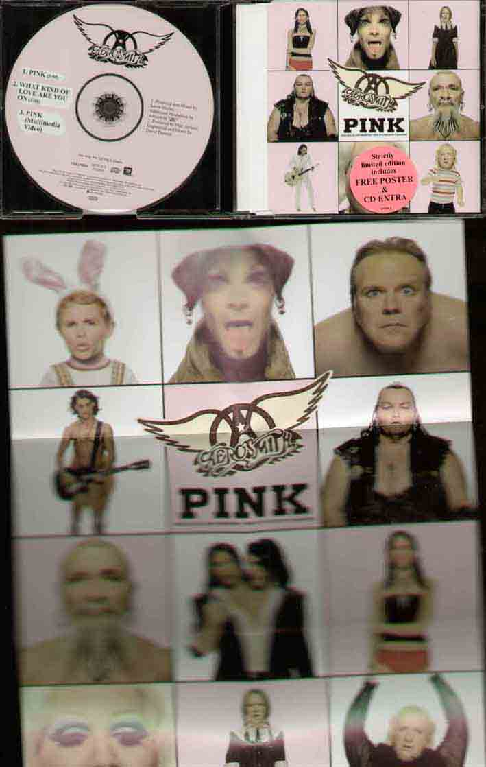 Aerosmith Pink CD