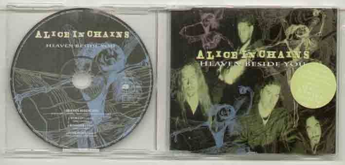 Alice In Chains Heaven+Beside+You CD
