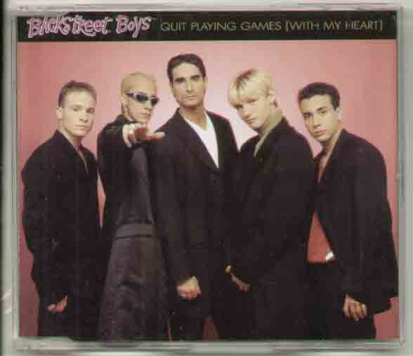 Backstreet Boys Quit Playing Games CD