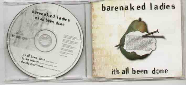 Barenaked Ladies Its+All+Been+Done CD