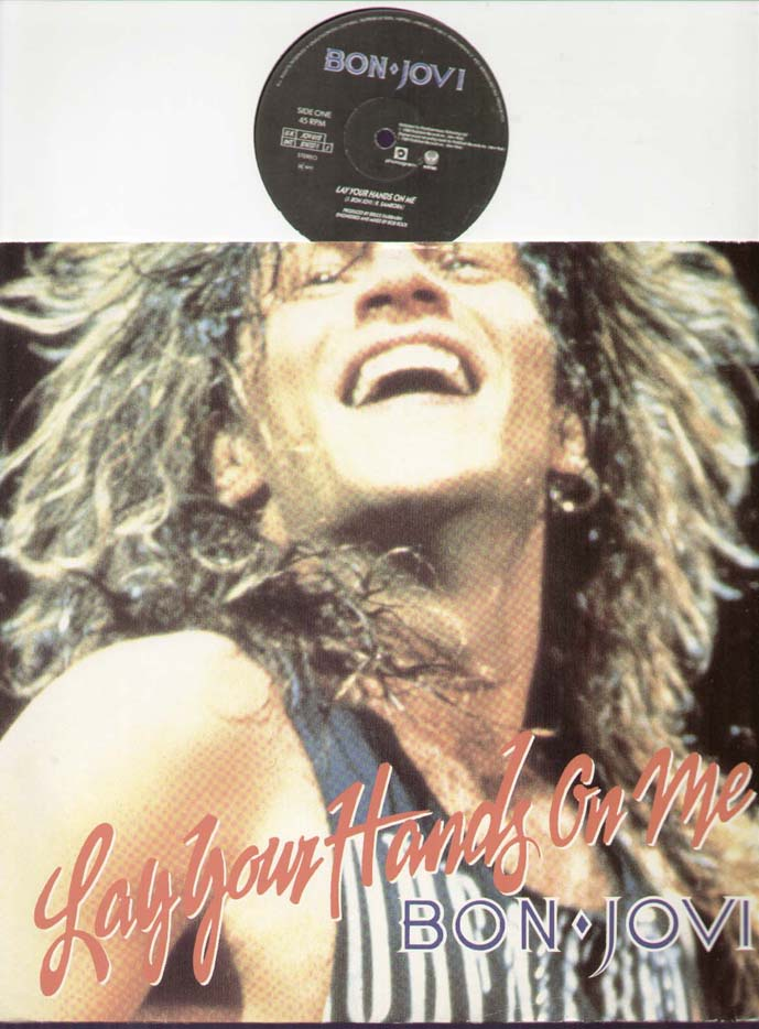 Bon Jovi Lay+Your+Hands+On+Me 12''