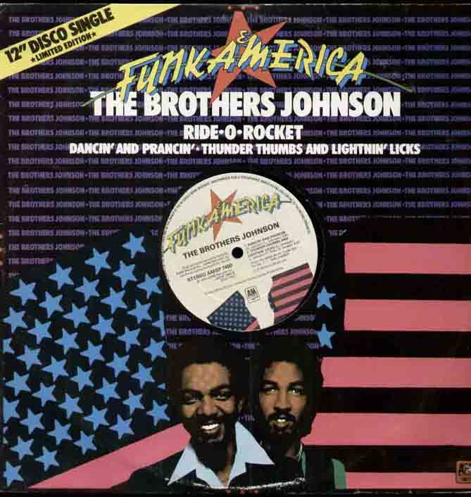 Brothers Johnson Ride+O+Rocket 12''