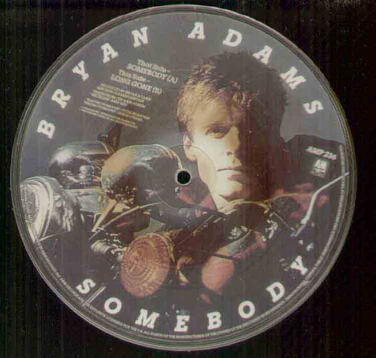Bryan Adams - Somebody LP