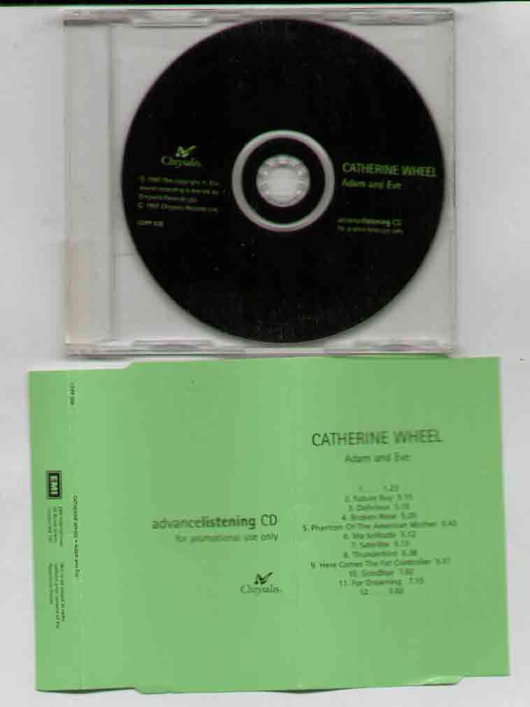Catherine Wheel Adam+And+Eve CD