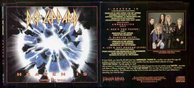 Def Leppard - Heaven Is