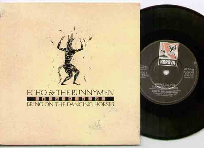 ECHO AND THE BUNNYMEN - Bring On The Dancing Horses - 7inch (SP)