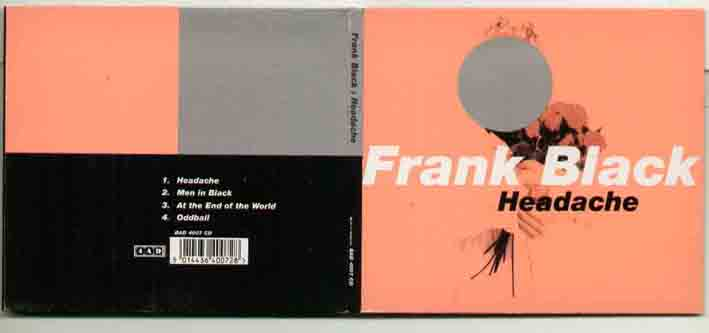 Frank Black Headache CD