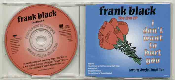 Frank Black I+Dont+Want+To+Hurt+You CD