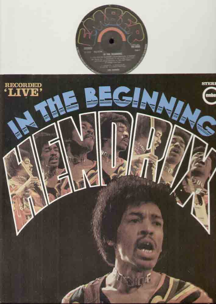 Jimi Hendrix - In The Beginning Record
