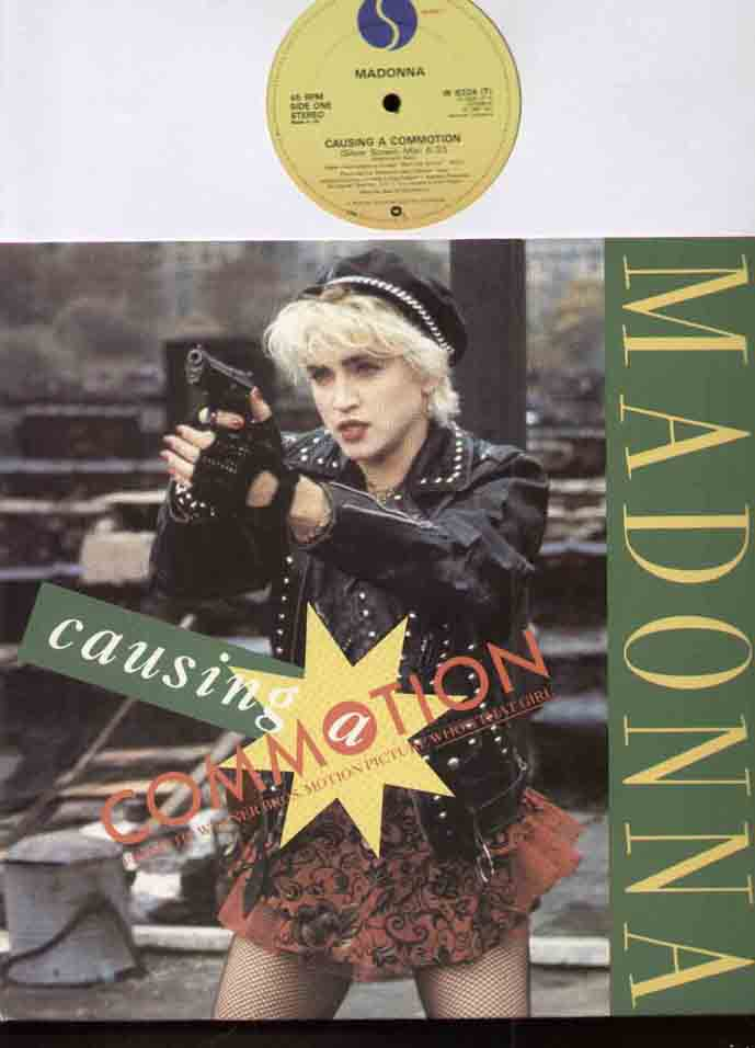Madonna Causing+A+Commotion 12''
