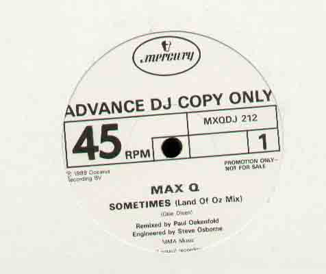Max Q Sometimes 12''