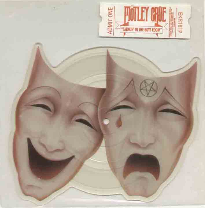 Motley Crue Smokin+In+The+Boys+Room 7''