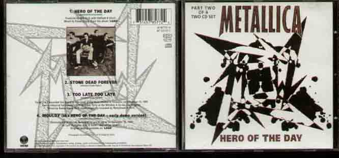 Metallica Hero+Of+The+Day CD
