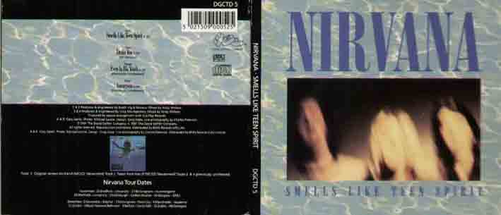 Nirvana Smells+Like+Teen+Spirit CD