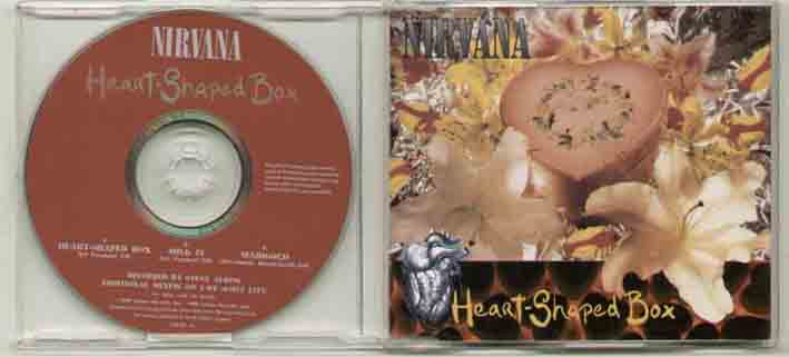 Nirvana Heart+Shaped+Box CD