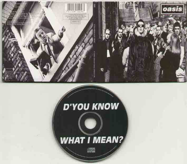 Oasis Dyou+Know+What+I+Mean CD