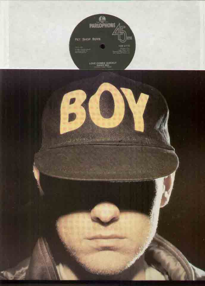 PET SHOP BOYS - Love Comes Quickly Record