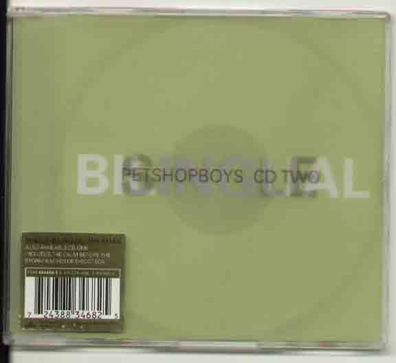 Bilingual - PET SHOP BOYS