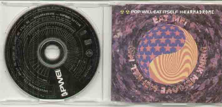 Pop Will Eat Itself Karmadrome CD