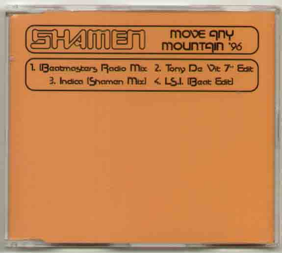 Shamen Move+Any+Mountain+96 CD