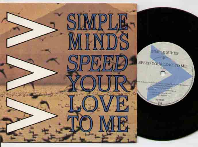 Simple Minds - Speed Your Love