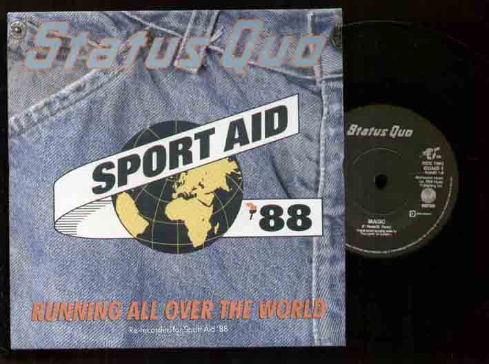 STATUS QUO - Running All Over World