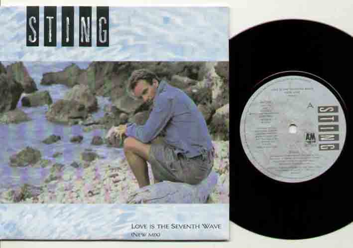 Sting - Love Is The Seventh Wave Record