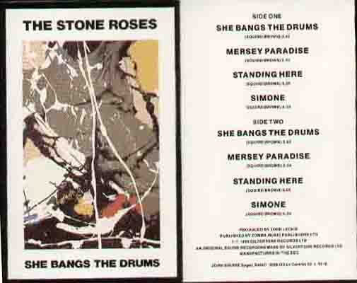 Stone Roses - She Bangs The Drums CD