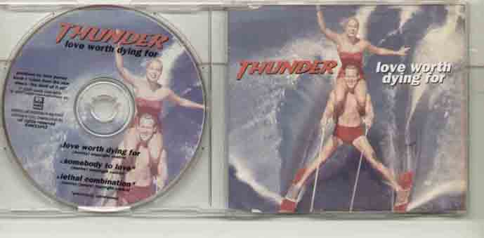 Thunder Love Worth Dying For CD