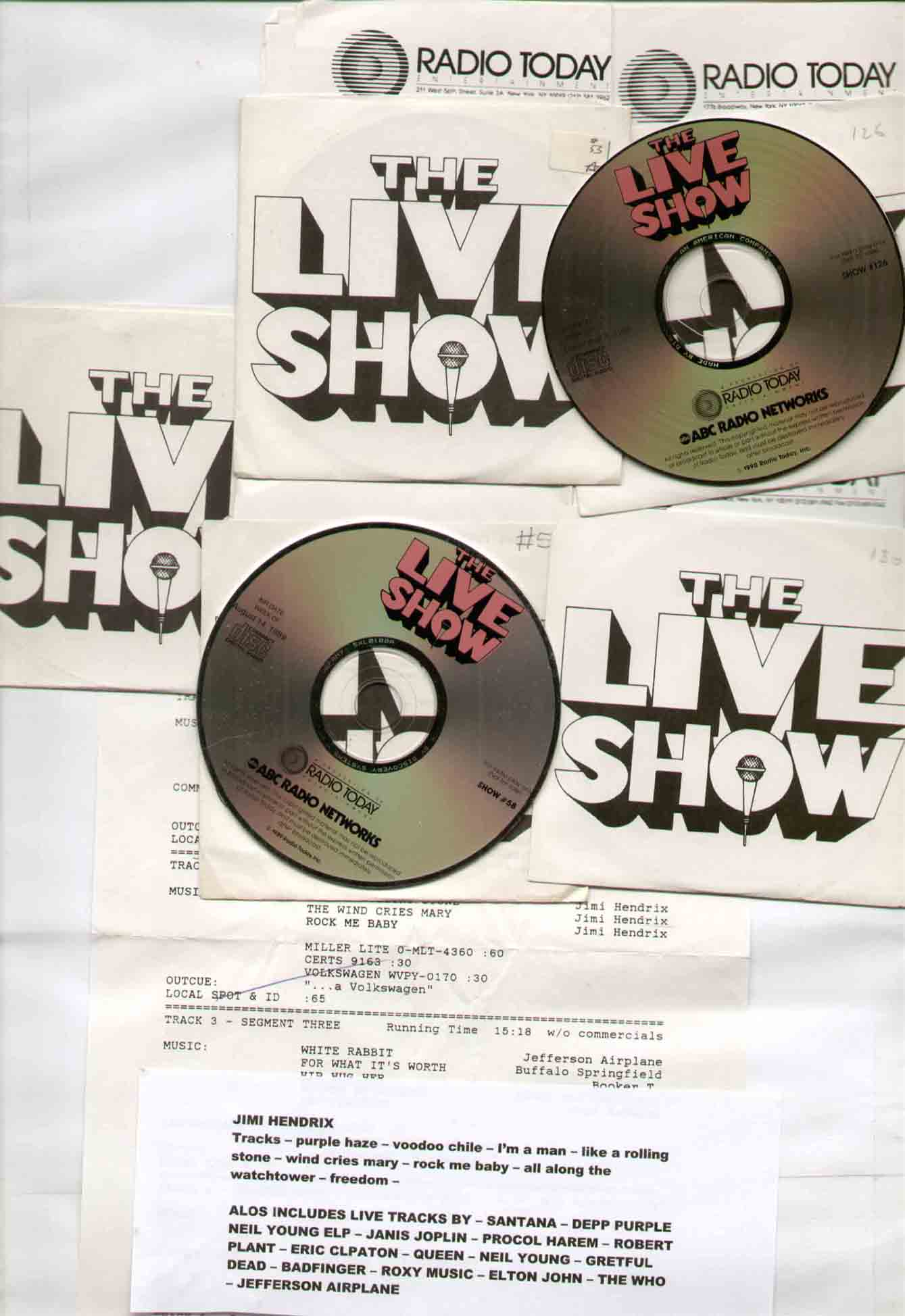 The Live Show Radio Today