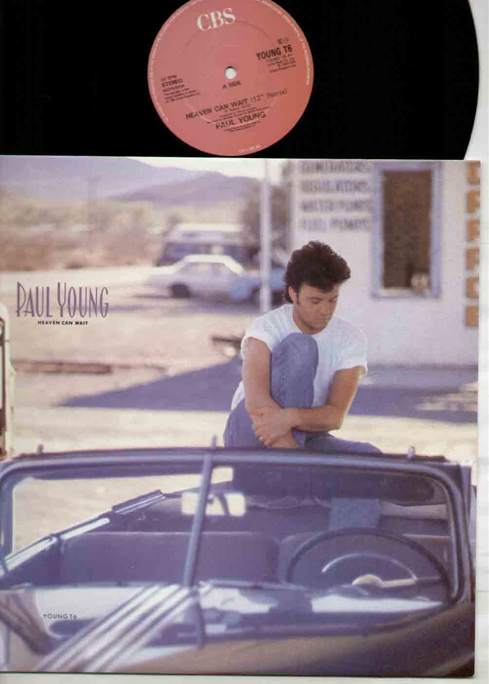 Paul Young Heaven+Can+Wait 12''