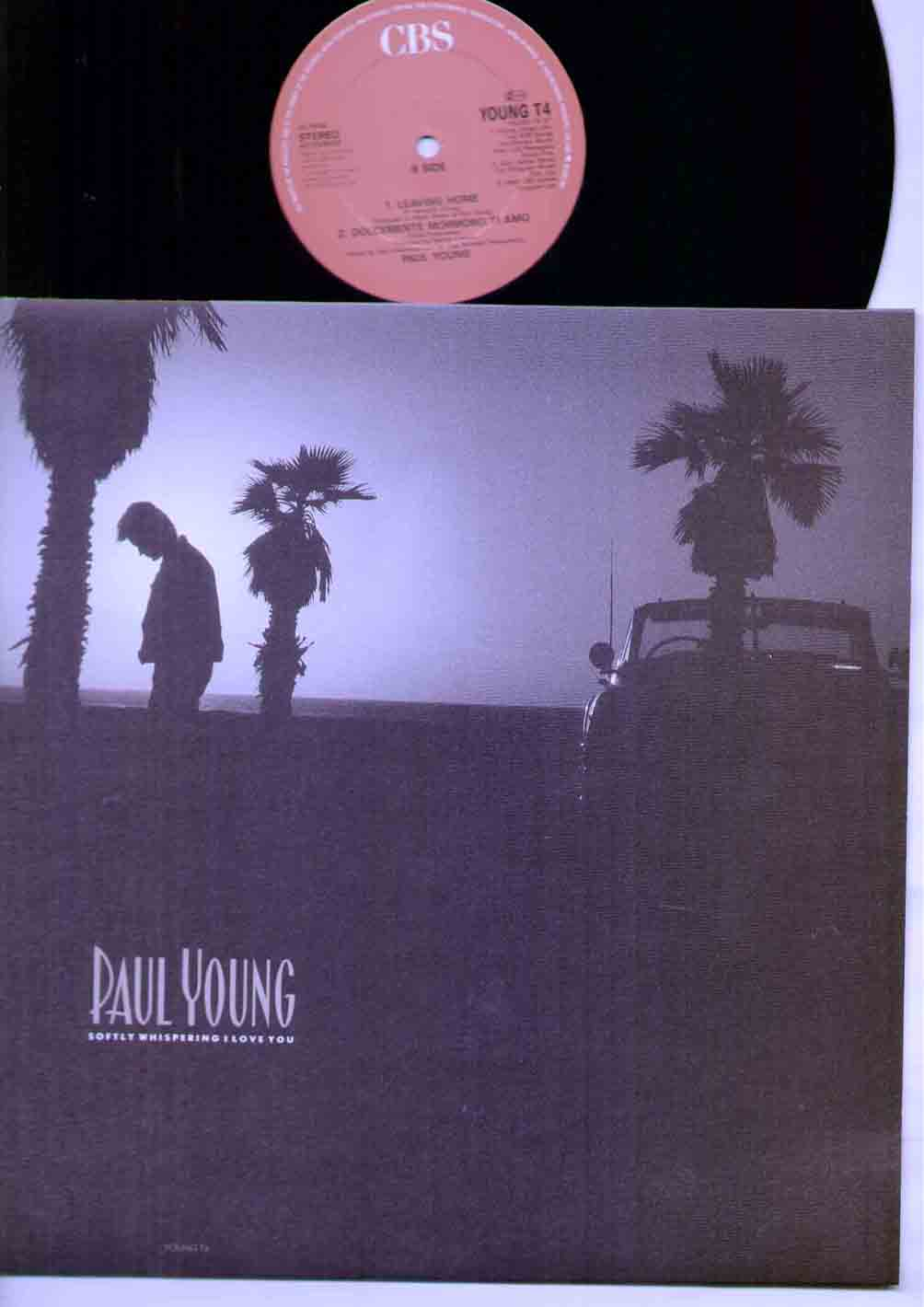 Paul Young Softly+Whispering+I+Love+You 12''