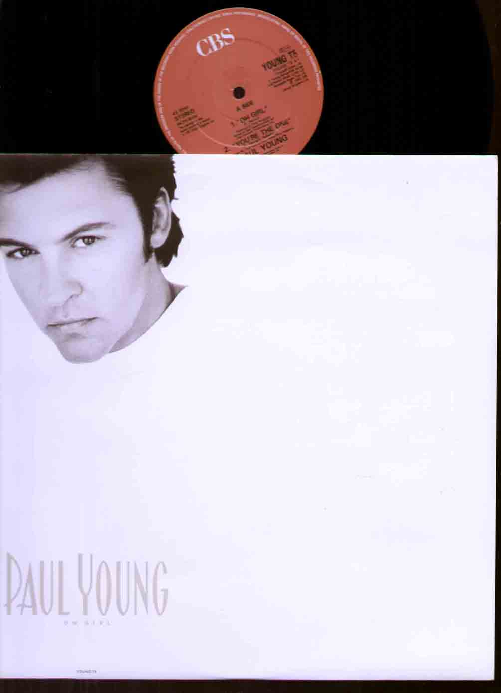 Paul Young Oh+Girl 12''