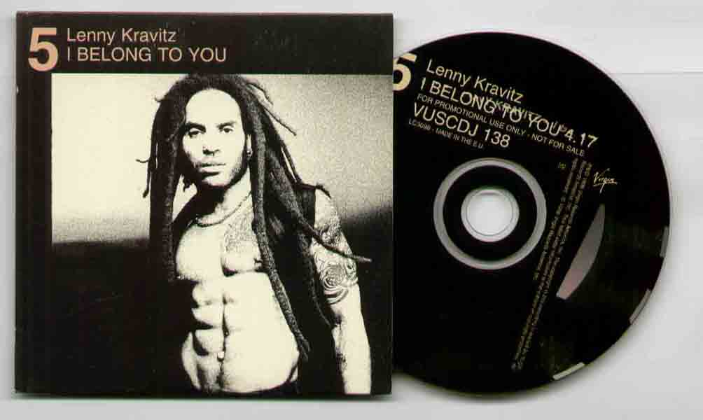 Lenny Kravitz I+Belong+To+You CD