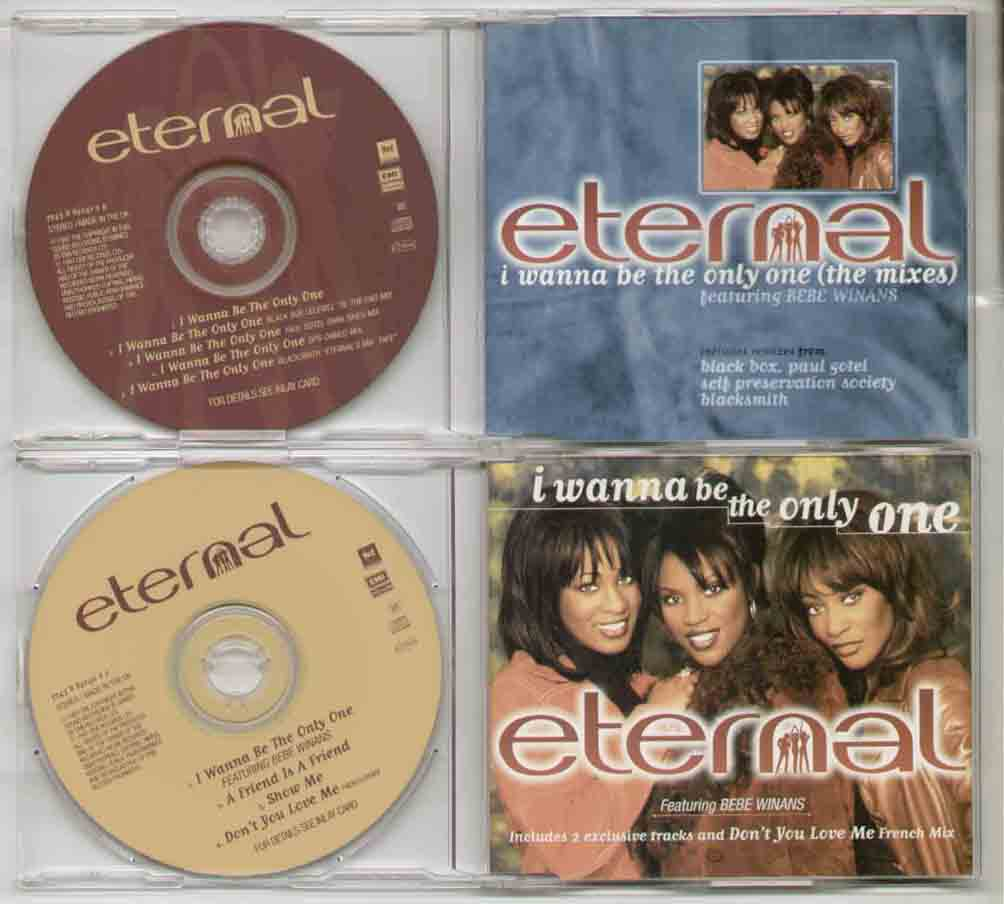 Eternal I+Wanna+Be+The+Only+One CD