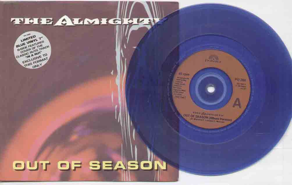 Almighty - Out Of Season Single
