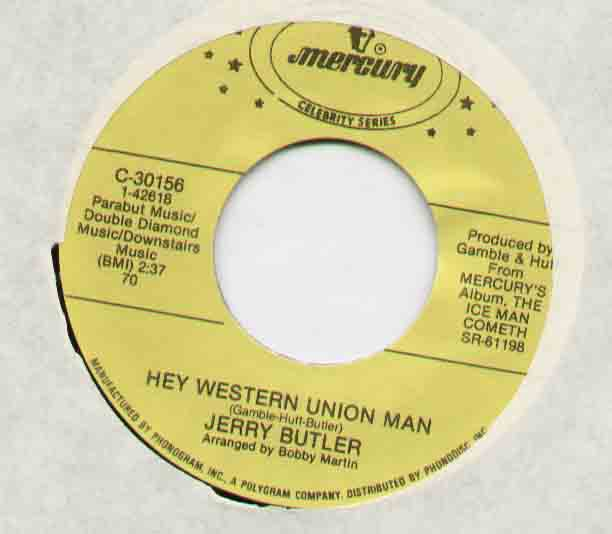 Hey Western Union Man - Jerry Butler