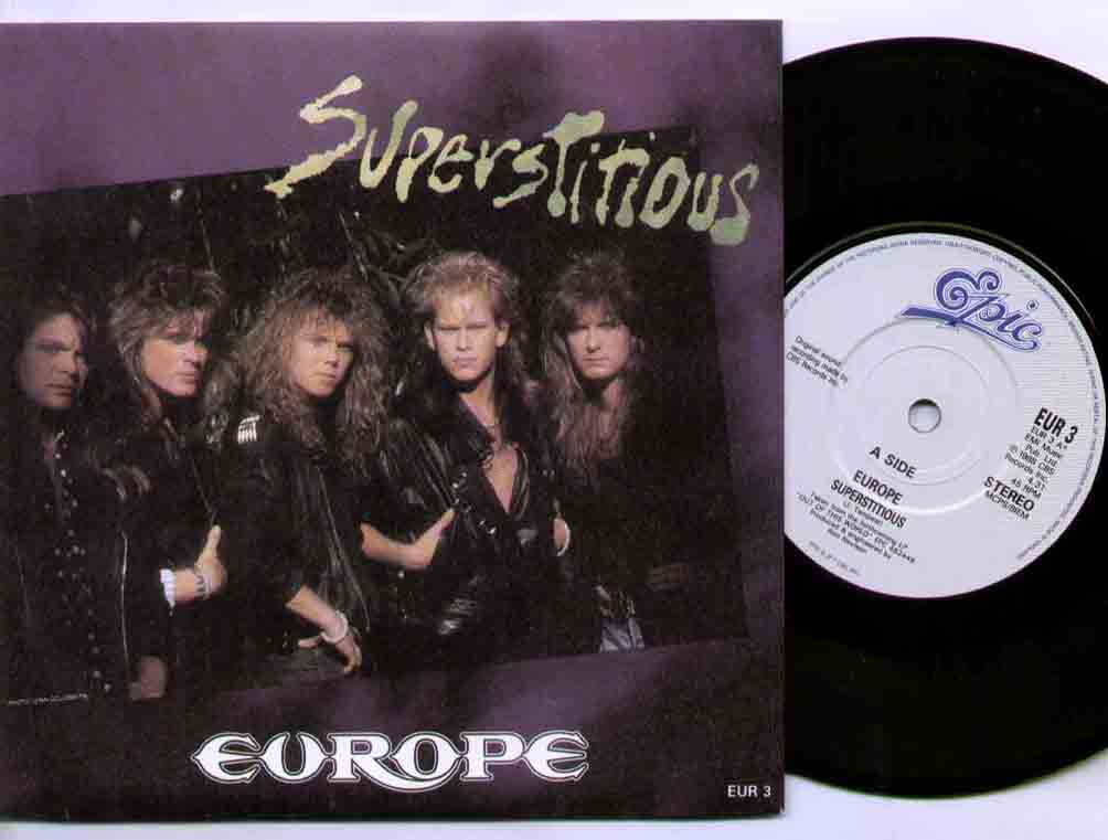Europe - Superstitious LP
