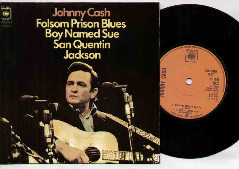 Johnny Cash - Folsom Prison Blues Ep