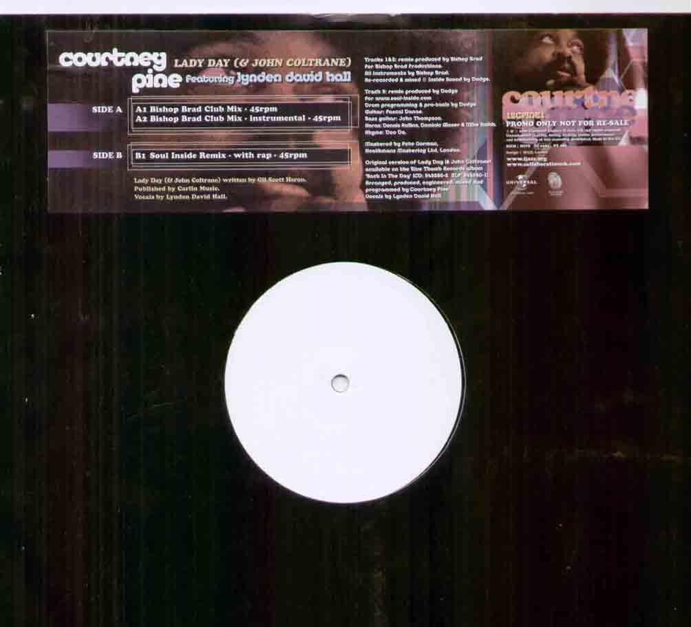 COURTNEY PINE - LADY DAY - 12 inch 45 rpm