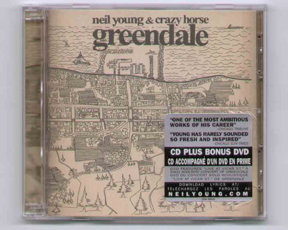 Neil Young Greendale Records, Vinyl and CDs - Hard to Find ...