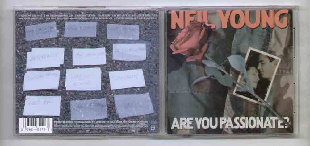 Neil Young Are You Passionate CD