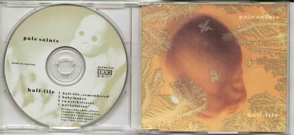 Pale Saints Half+Life CD