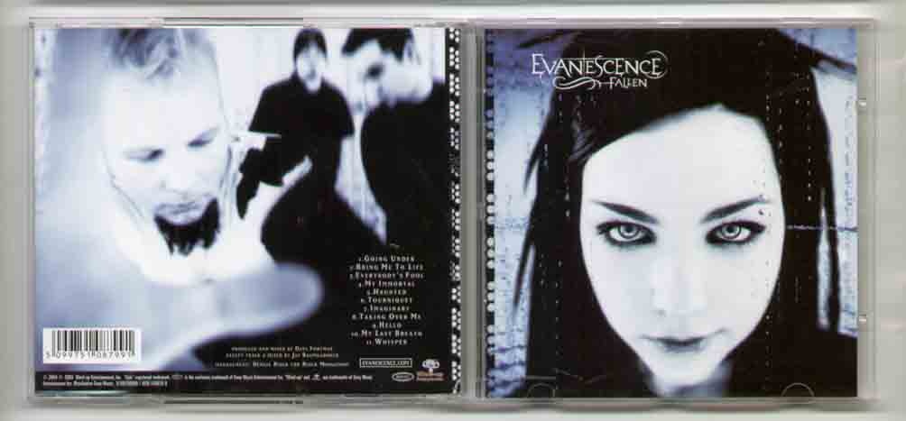 Evanescence Fallen CD