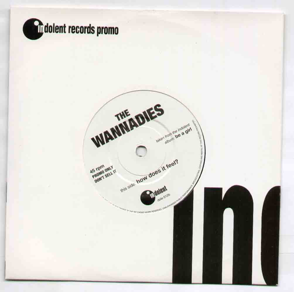 Wannadies How+Does+It+Feel 7''