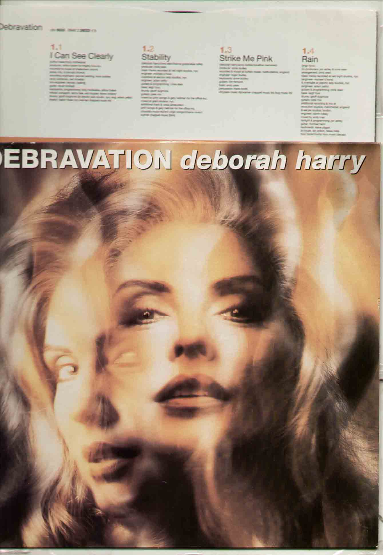 Blondie Deborah Harry Debravation Vinyl Label Chrysalis