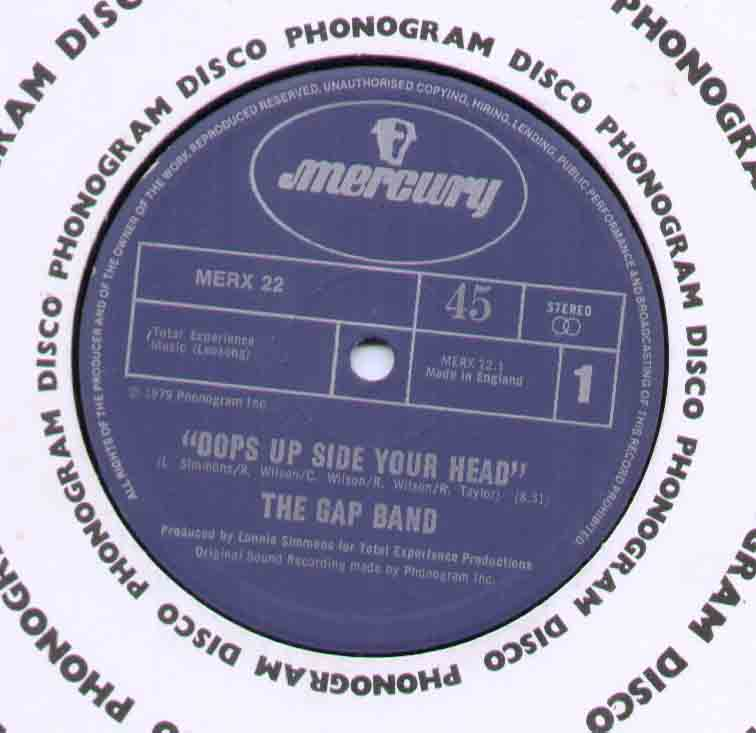 Gap Band Oops+Up+Side+Your+Head 12''