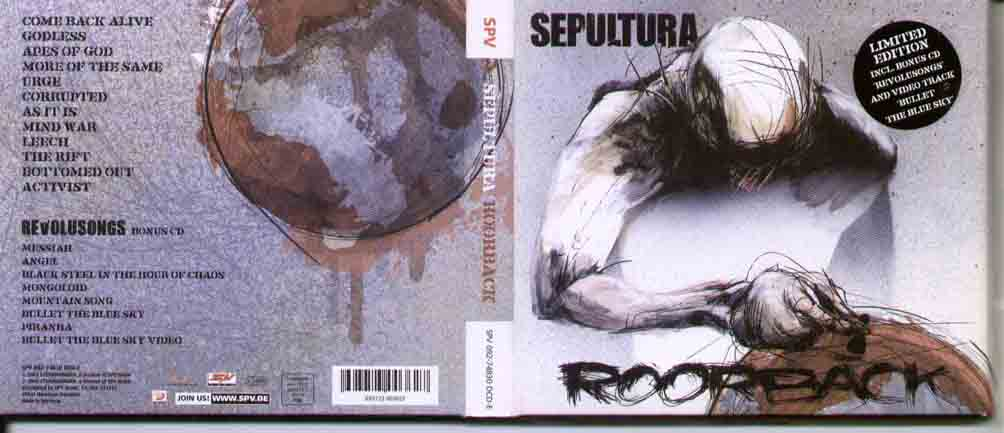 SEPULTURA - Roorback Single