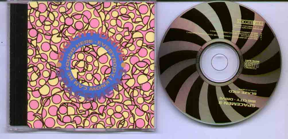 Spacemen 3 Big+City CD